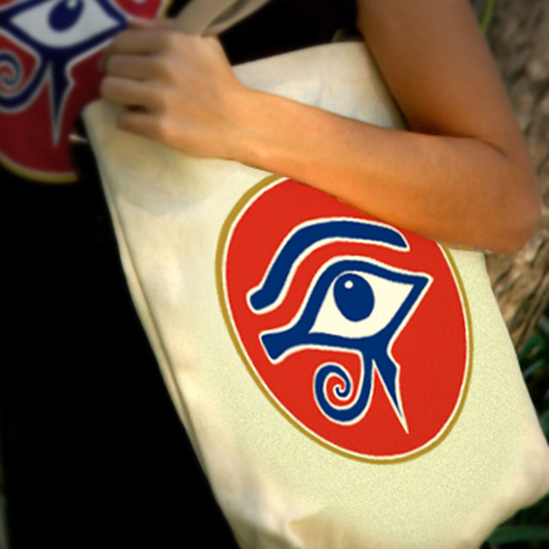 Eye of RA Book Bag