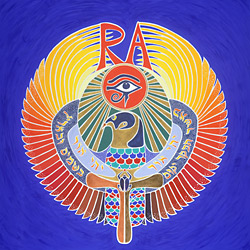 Horus RA - Egyptian Falcon
