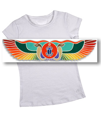 Winged Serpent  Women's Baby Tee Shirt